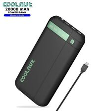 COOLNUT Power Bank 20000mAH for All Smartphone +1 Year Warranty