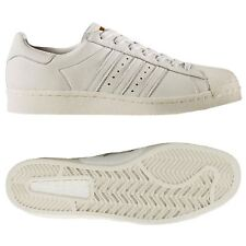 adidas ORIGINALS SUPERSTAR BOOST TRAINERS WHITE SHOES SNEAKERS MEN'S NEW