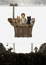 ISLE OF DOGS Movie PHOTO Print POSTER Textless Film Art Wes Anderson Atari 004