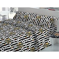 Completo Letto in Fantasia Made in Italy cotone 100% JUVENTUS