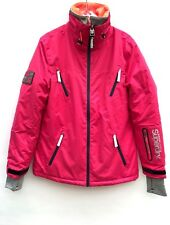 Superdry Womens Glacier Ski Snow Jacket Alpine Pink SIZE S M L NEW WITH TAGS