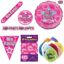 Hen Night Decorations Party Banners, Bunting, Badges Hen Night Party Accessories