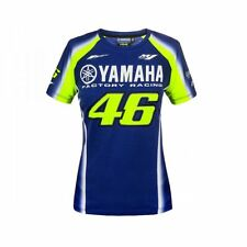 VR46 Oficial Valentino Rossi 2018 Dual Yamaha Mujer Camiseta - Ydwts 314309