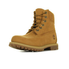 Chaussures Boots Timberland femme 6IN Premium taille Camel Cuir Lacets