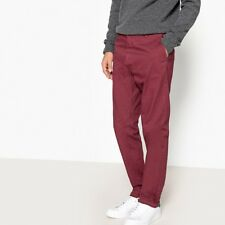 La Redoute Collections Mens Straight Cut Chinos, Length 32