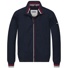 TOMMY HILFIGER GIACCA - Tommy Jeans Classiche in nylon bomber giubbino - Navy