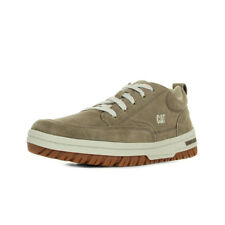 Chaussures Baskets Caterpillar homme Decade taille Marron Cuir Lacets