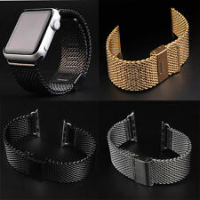 Loop Milanese Stainless Steel Watch Band Strap For Apple Watch 3 2 1 38 / 42mm