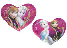 52 CM Disney Frozen Plush Heart Cushion Characters Elsa and Anna 3+ 2 to choose