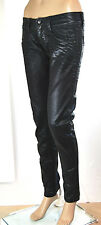Jeans Donna Pantaloni MET Made in Italy Slim Fit Ca60 Angel Tg 28 veste 27