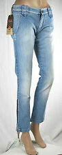 Jeans Donna Pantaloni MET Made in Italy Regular Fit C427 Tg 26 29 30 31 32