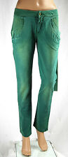 Pantaloni Donna Jeans MET Made in Italy Woman Trousers C299 Tg 27