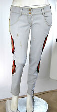 Jeans Donna Pantaloni MET Slim Fit Made in Italy Trousers C791 Tg 30  veste 29