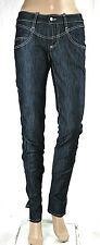 Jeans Donna Pantaloni MET Made in Italy Regular Fit Woman Trousers C492 Tg 27