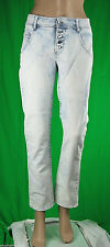 Jeans Donna Pantaloni MET Made in Italy Regular Fit Trousers C555 Tg 27 veste 28