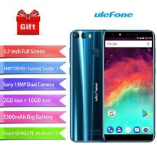 "Ulefone MIX 2 Quad Core 5.7"" Android 7.0 4G Smartphones 2GB+16GB 2-Rear Cam"