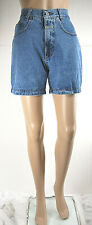 Jeans Corti Donna Shorts Pantaloni E605 Made in Italy D490 Tg 26