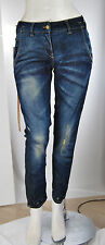 Jeans Donna Pantaloni MET Made in Italy Loose Fit SA284 Tg 27 veste 28/29