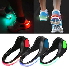SAFETY FLASHING LED LIGHT UP ARM BAND + SHOE CLIP HIKING RUNNING BIKE CYCLING 3D