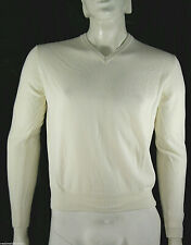 Pullover  Maglia Uomo R63 BAGARINY Made in Italy Misto Cashmere D059 Tg XL