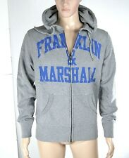 Felpa Uomo Cappuccio FRANKLIN & MARSHALL Made in Italy H091 Tg XS M