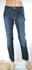 Jeans Uomo Pantaloni X-CAPE Made in Italy Slim Fit SA302 Tg 46