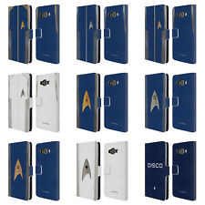 OFFICIAL STAR TREK DISCOVERY UNIFORMS LEATHER BOOK CASE FOR SAMSUNG PHONES 2