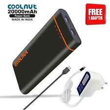 COOLNUT Power Bank 20000mAH for All Smartphone + 1 Year Warranty
