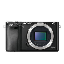Sony Alpha A6000 24.3MP Digital Camera - Black (Body Only)