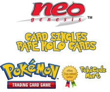 Pokemon TCG Neo Genesis Set Rare Holo Card Selection /111 English Cards