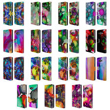 OFFICIAL HAROULITA VIVID INK LEATHER BOOK WALLET CASE COVER FOR SAMSUNG PHONES 2