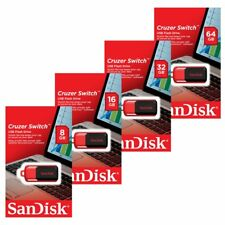 Sandisk 8/16/32/64GB Cruzer Switch CZ52 USB Stick Unidad Flash Pen Drive new