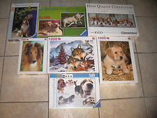 Puzzle CHIEN COLLEY LABRADOR BEAGLES LOUP THE DOG 500 OU 1000 pieces NEUF NEW
