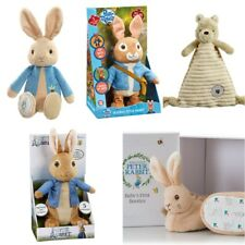 Peter Rabbit Soft Plush Toy, Booties Set, Talking & Hopping & Winnie the Pooh
