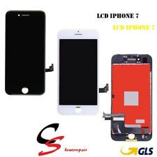 TOUCH SCREEN + LCD DISPLAY RETINA + FRAME APPLE IPHONE 7 7G SCHERMO VETRO N / B