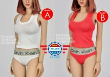 1/6 scale Tank Top Underwear Set for 12'' female figure Phicen TBLeague