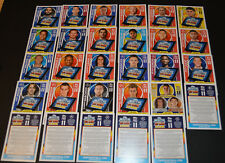 CHOOSE YOUR MATCH ATTAX UCL Champions League 2017/18 PRO 11 *UNUSED* Code Cards