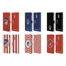 ATLETICO MADRID 2017/18 CREST LEATHER BOOK CASE FOR MICROSOFT NOKIA PHONES