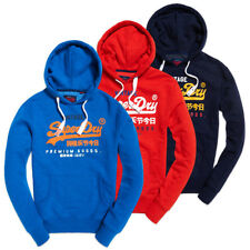 Superdry Sweat à capuche - PREMIUM GOODS TRICOLORE - Marine, bleu, rouge