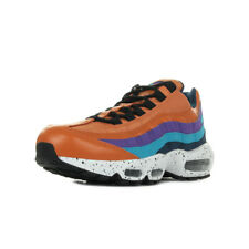 Chaussures Baskets Nike homme Air max 95 premium taille Orange Cuir Lacets