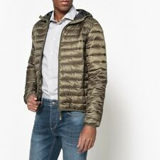 La Redoute Collections Man Hooded Padded Jacket With Camouflage Print Lining