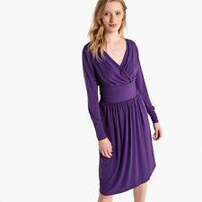 La Redoute Collections Womens Flared Wrap Dress