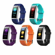 HR2 Smart Bracelet Heart Rate Monitor Bluetooth Pedometer Watch For Android iOS
