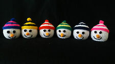 **Handcrafted Christmas Snowman, Terrys Chocolate Orange Cover**