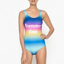 La Redoute Collections Womens Multicoloured Print Swimsuit