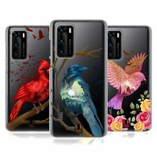 HEAD CASE DESIGNS COLOURFUL BIRDS SOFT GEL CASE FOR HUAWEI PHONES