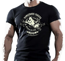 Mechanic On Duty - Mens Motorbike T-Shirt Biker American Motorcycles Bike