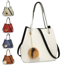 Designer Women's Large Hobo Shoulder Bag Ladies Stylish Leather Handbags New