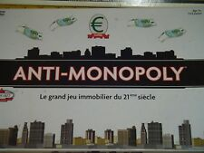 ANTI-MONOPOLY Édition University Games 2006 Jeu sur le Capitalisme Complet TBét