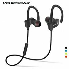Sports Wireless Bluetooth Stereo Earbuds Headset In-Ear Earphones with Mic